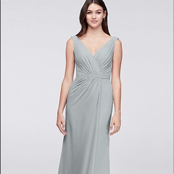 David's Bridal Dresses & Skirts - Bridesmaids Dress Grey *David's Bridal* Mystic